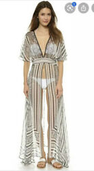 Camilla Franks Pathway To Eternity Silk Cover Up Dress Size 2 Medium $4 EXPRESS $145.26