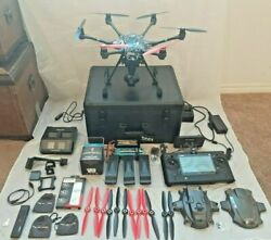 4397) Yuneec Typhoon H Pro Hexacopter 4K Video Camera Drone W/ Real Sense +MORE. $995.00