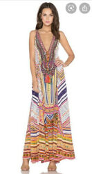 Camilla Franks Through Threads Of Time Drawstring Dress Size 1 Small $4 EXPRESS $131.28