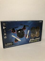 iQuad Mini Radio Controlled Micro Copter Drone W LED Lights 2.4 GHZ System New $24.99