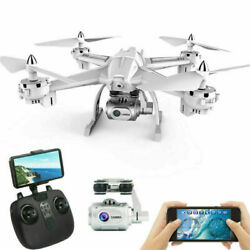Foldable Drone with Camera WiFi FPV Quadcopter with Wide Angle 1080P HD Camera $58.99
