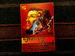 Grateful Dead Backstage Pass 442995 Birmingham AL Dr. Strange Marvel Comics