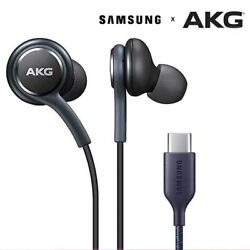 AKG Earbuds USB TYPE C Earphone HIFI In ear For Samsung Galaxy Note 10 HUAWEI $3.49