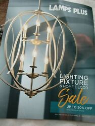 Lamps Plus Catalog Look Book Spring 2017 Lighting Fixture amp; Home Decor Brand New $9.99