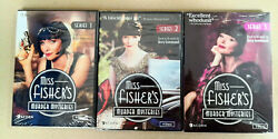 Miss Fisher#x27;s Murder Mysteries Seasons 1 3 Collection DVD TV Complete All Series $25.20