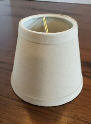 5 Inch Chandelier Shade Mini Shade Lamp Shade Clip On $5.00