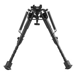 6quot; 9quot; Tactical Rifle Bipod Adjustable Spring Return with Adapter $20.99