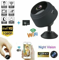 USA Mini Camera Wireless Wifi IP Home Security HD 1080P DVR Night Vision Remote $18.99