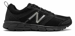 New Balance Men#x27;s 430 Shoes Black with Grey $51.99