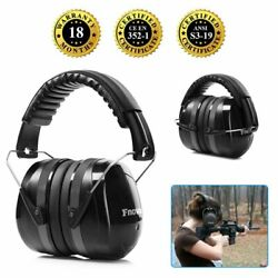 Ear Defenders 34dB Highest NRR Safety Ear Muffs Shooting Hearing Protector Adult $13.99