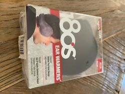 180s Mens Ear Warmers Luxe Cashmere Knit Brand New Black $30.00