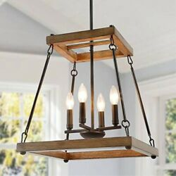 laluz farmhouse chandelier rustic chandeliers for dining rooms living room bedr $202.39