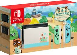 Animal Crossing: New Horizon Special Edition Nintendo Switch Buy TODAY $499.99