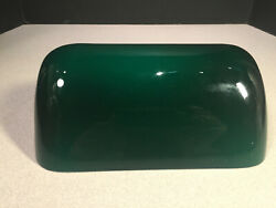 Green Glass 9 Inch Bankers Lamp Shade Replacement $24.50