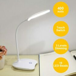 Bright LED Night Light USB Charging Desk Lamp Bed Lamp for Learning Reading $9.49