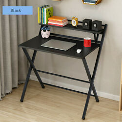 Modern Folding Computer Desk Table Laptop PC Writing Study Workstation Office Ne $66.99