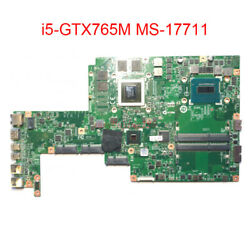 for MSI GS70 MS 1771 notebook motherboard CPU i5 4700HQ GPU GTX765M 2GB MS 17711 $284.99
