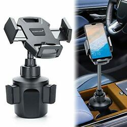 Car Cup Call Holder Adjustable Smart Phone Cradle Car Mount Flexible Long Neck $17.48