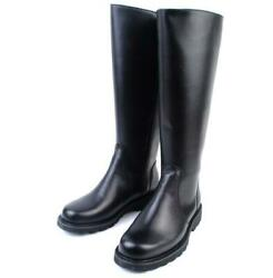 Mens Knee High Riding Equestrian Knight Boots Shoes Stage Zip Motorcycle Biker L $100.16