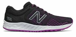 New Balance Women#x27;s Fresh Foam Arishi v2 Shoes Black with Purple amp; Silver $30.68