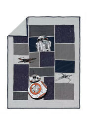 Pottery Barn Kids Star Wars Droid Twin Quilt New In Package SOLD OUT $166.49