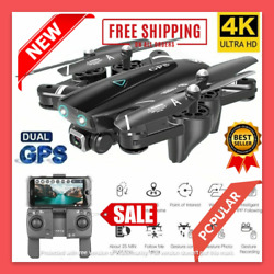 Best Drone CAMER 4K HD Dual Camera Follow Me GPS Quadrocopter Flying Drone RC $89.99