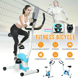 Indoor Cardio Exercise Bike Fitness Bicycle Workout Home Gym Magnetic Machine $79.10