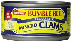 Bumble Bee Snow#x27;s Minced Clams in Clam Juice 6.5 oz $7.89