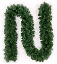 Perfect Holiday 9ft x 10in Colorado Pine Artificial Christmas Garland Green $16.50