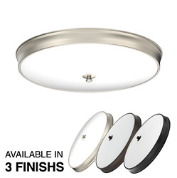 DYMOND 14quot; Modern Elegant Dimmable LED Flush Mount Ceiling Light Thin Slim $29.99