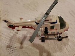 Small Tonka Helicopter 2000 Power Winch. Tested Works Lights Sounds $14.99
