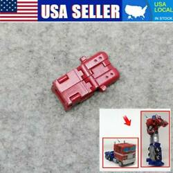 Red 3D upgrade DIY KIT bag armor FOR earthrise Optimus Prime Parts USA $15.69