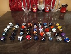 2013 Riddell and Others Mini Micro Pocket Helmets NFL Football Lot of 45 Total $34.99