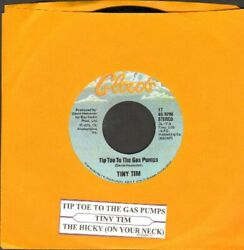 Tiny Tim Tip Toe To The Gas Pumps Vinyl 45 rpm Record Free Shipping $16.21