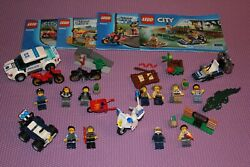 LEGO City Police Lot 4 small complete sets 60006 60041 60042 60066 $25.99