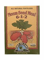 Neem Seed Meal 5lb Organic Fertilizer Plants Growth Support Healthy Strong Roots $34.98