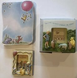 Classic Pooh amp; Friends Mini Frames And Notepad Lot $9.99