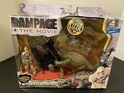 RAMPAGE THE MOVIE LIZZIE CANISTER CONTACT EXCLUSIVE PLAYSET SEALED NIP LANARD $75.99
