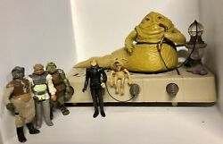 Vintage 1983 Star Wars ROTJ Jabba the Hutt Playset complete with add. figures $129.99