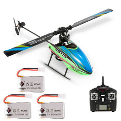 WLtoys V911S 4CH 6G Non Aileron RC Helicopter For Kids Toys W 3 Batteries Xmas $57.99