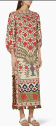 Rhode Resort Floral Tassle Delilah Dress NWT SZ S $268.00