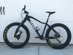 Framed Fat Bike 19quot; large excellent condition $2550.00