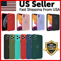 Heat Dissipation Breathable Cooling Case For iPhone 11 Pro Max XS XR 8 7 SE PLUS $3.89