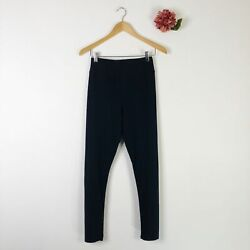 LEGACY Women#x27;s Brushed Jersey Leggings Navy S $24 $10.50