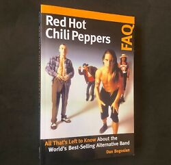 RED HOT CHILI PEPPERS FAQ; Brand New Unread 2020 Softcover; Punk New Wave 90s $15.99