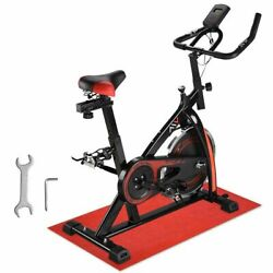 Stationary Exercise Bicycle Cycling Indoor Bike Cardio Workout Fitness Movable $185.99