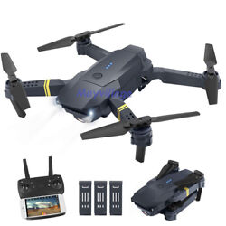FPV Wifi Drone Quadcopter With HD Camera Aircraft Foldable Selfie Toy Adjustable $9.99
