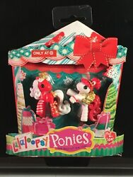 Lalaloopsy Mini Christmas Ponies #10 amp; 11 Holiday Edition NEW Target Exclusive $8.95