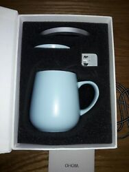 OHOM Kopi Mug amp; Warmer Set In Spring Sky Color $85.00