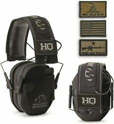 HQ ISSUE Walker#x27;s Patriot Series Electronic Ear Muffs $52.99
